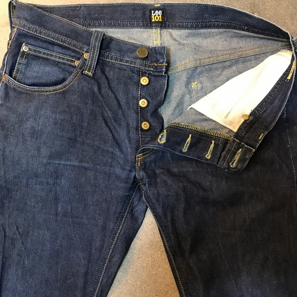 LEE 101 SELVEDGE DENIM MADE IN POLAND